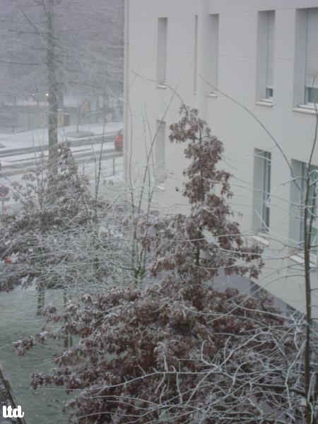Pollution : la neige qui n'en était pas