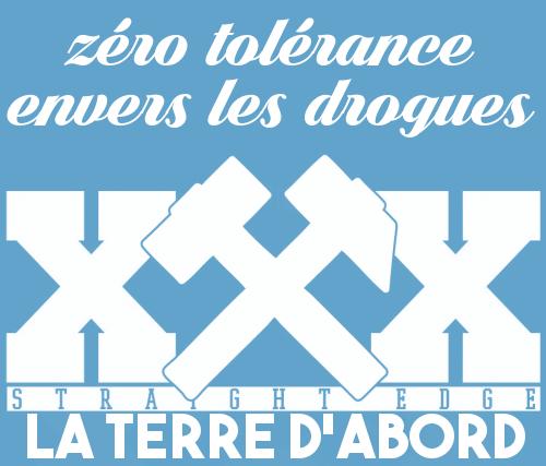 Zéro tolérance envers les drogues