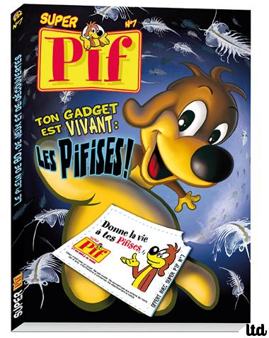 """Pif gadget relance les """"pifises"""""""