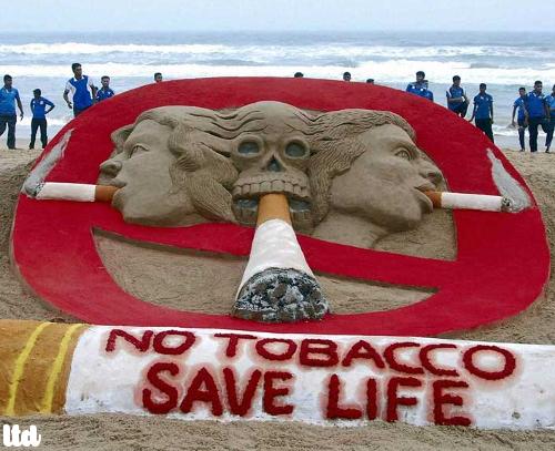 Non au tabac, ennemi de la vie