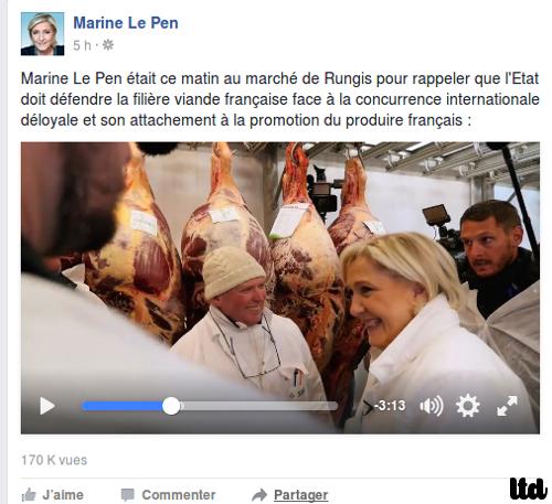 """L'écologie """"véritable"""" de Marine Le Pen"""