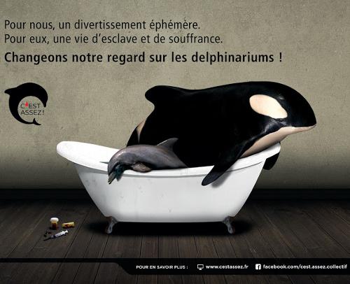 """Campagne de """"C'est assez"""" dans le métro parisien"""