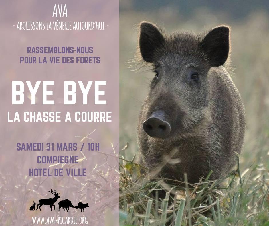 Chasse à courre : le 31 mars 2018 à Compiègne