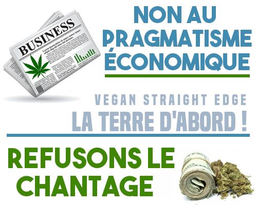 Non au chantage du pragmatisme économique