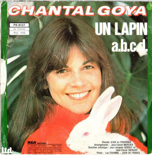 Chantal Goya : un lapin
