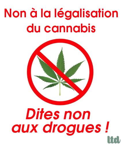 Non à la légalisation du cannabis