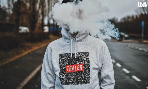 Tealer et l'éloge du cannabis