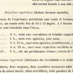 La vivisection de Claude Bernard pour les Leçons sur la chaleur animale
