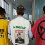 Les gilets verts d'Extinction Rébellion